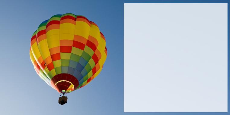 "Bild - ""Ballonfahrt"""