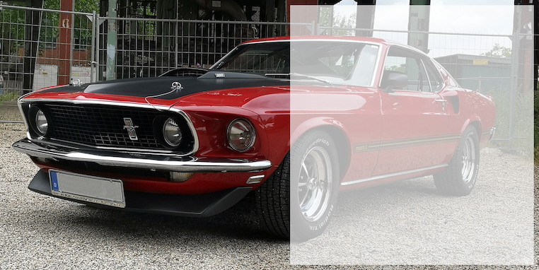 US Muscle Car