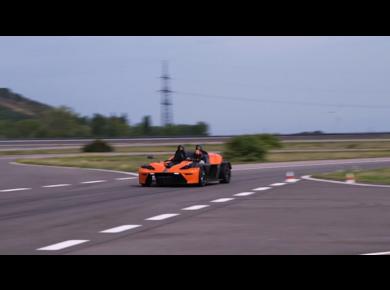 Rennstreckentraining KTM X-Bow Aldenhoven