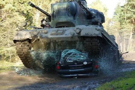 panzer fahren gepard inkl car crashing f rstenau. Black Bedroom Furniture Sets. Home Design Ideas