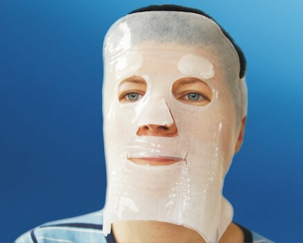 NEOHEAL Hydrogel Facial Mask: 25 cm x 25 cm , 2 St./Pck.