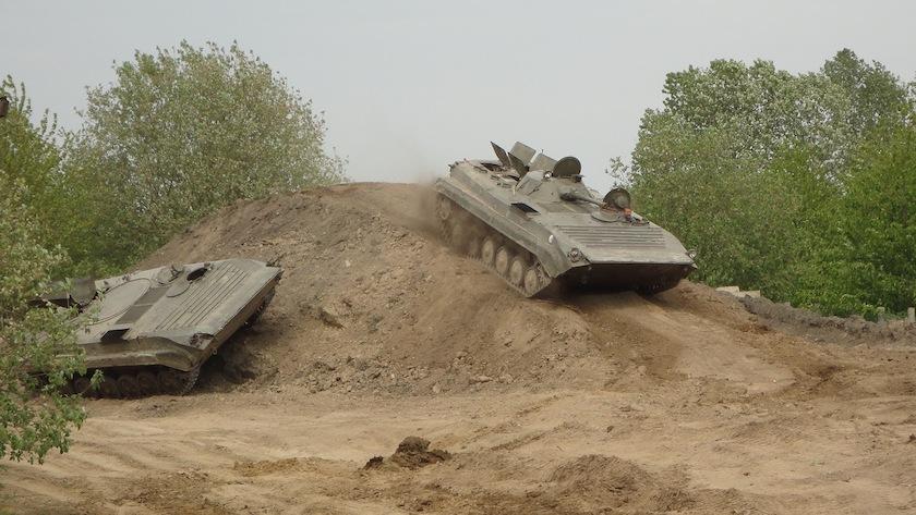 Panzer Fahren Grimmen