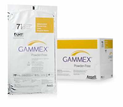 GAMMEX® Powder-Free with AMT™; 4 x 25 Paar