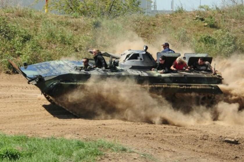 Panzer Fahren Leipzig