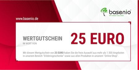 Wertgutschein 25 Euro (freie Auswahl)