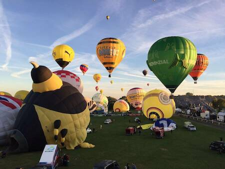Ballonfahrt - 1 Person (Tholey, Saarland)