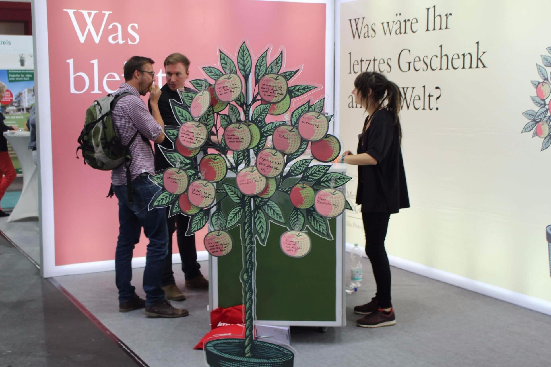 Axel Zawischa, Messe Bremen, InVita, Seniorenmesse, Initiative Mein Erbe tut Gutes