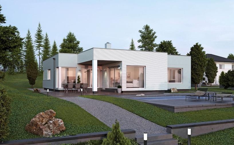 bungalow bauen infos zu kosten pro qm f r fertigh user. Black Bedroom Furniture Sets. Home Design Ideas