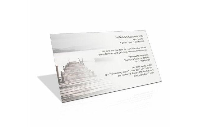Kondolenzkarte Trauerkarte Beispiel 12 Trauerkarte 4