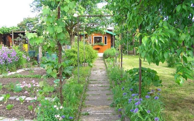 Schrebergarten gestalten - So wird der Kleingarten hübsch | Tipps