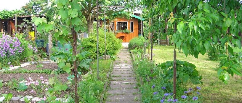 schrebergarten gestalten so wird der kleingarten h bsch tipps. Black Bedroom Furniture Sets. Home Design Ideas