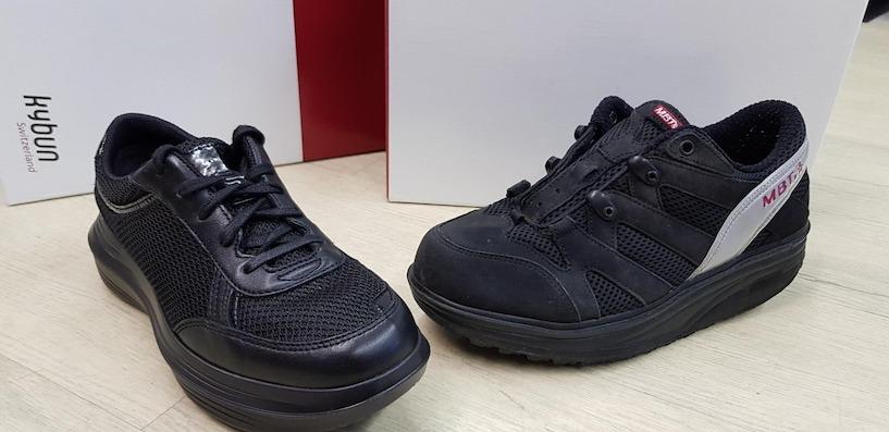 d6b6c0e9a4021e MBT-Schuhe im Vergleich mit Nachfolger kybun