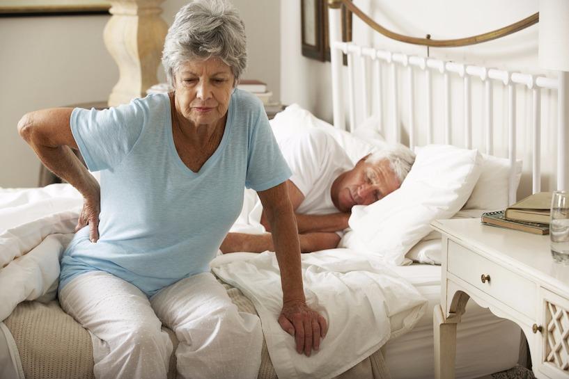 Boxspringbett für Senioren gesunde Hilfe bei Rückenschmerzen | Info
