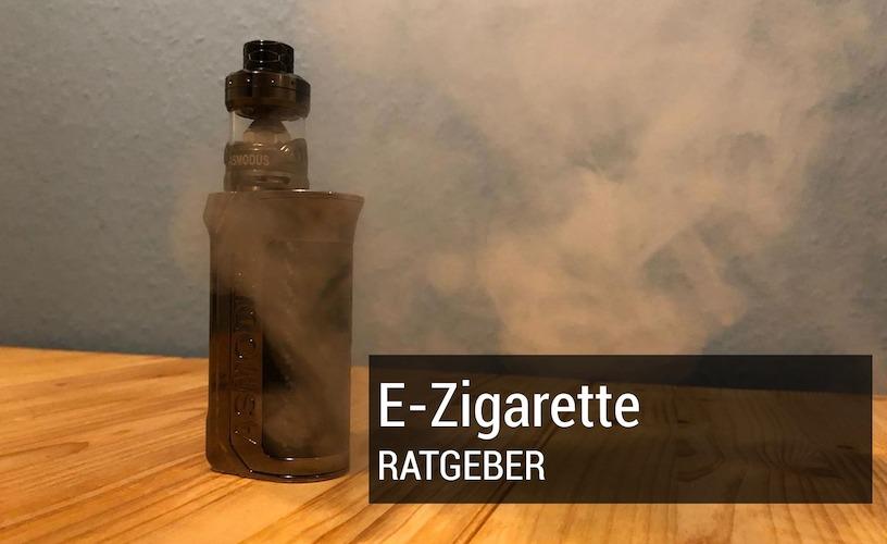 E-Zigarette rauchen: Vor- und Nachteile des