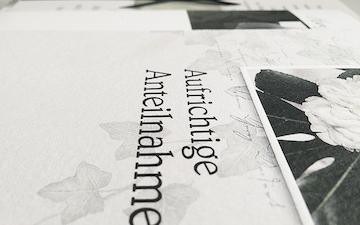 bild zum artikel trauerkarte schreiben beispiele text muster - Beileidskarte Schreiben Beispiel