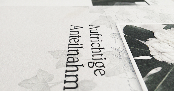 Trauerkarte Schreiben 20 Einfühlsame Beispiele Text Muster