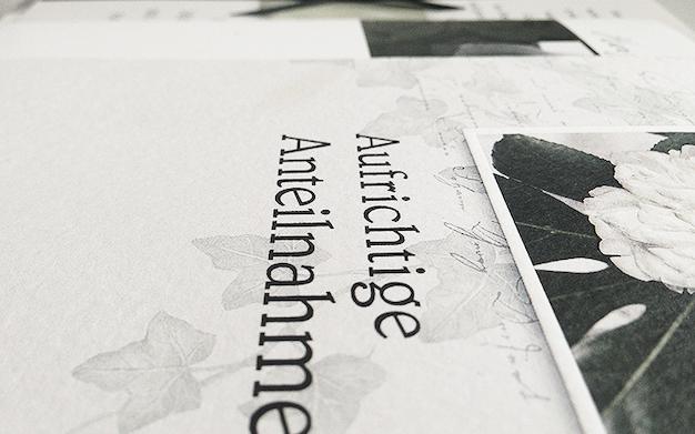 Bild Zum Artikel: Trauerkarte Schreiben | Beispiele | Text | Muster