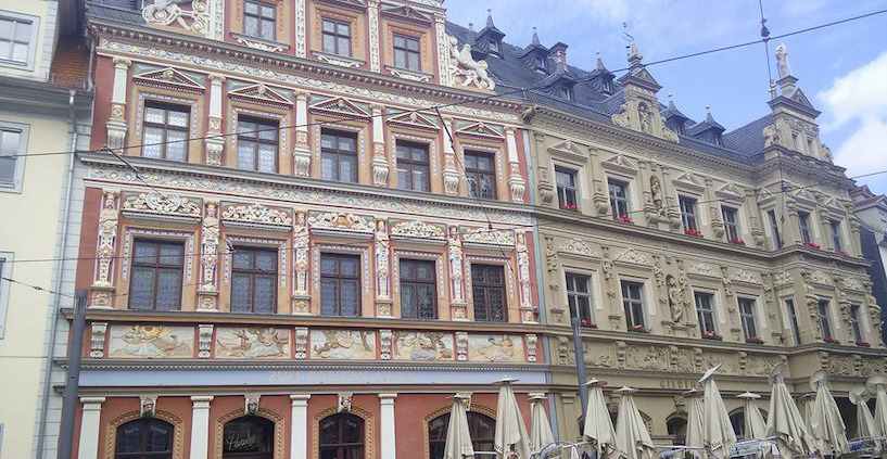 06ba5d16d27b95 Erfurt Fischmarkt Haus zum Breiten Herd Gildehaus