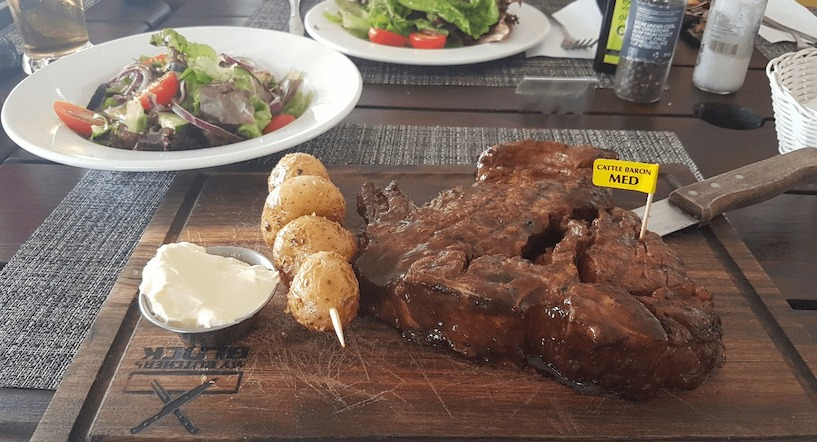 Südafrika, Tsitsikamma Nationalpark, Steak, Essen, gut, Marinade, lecker
