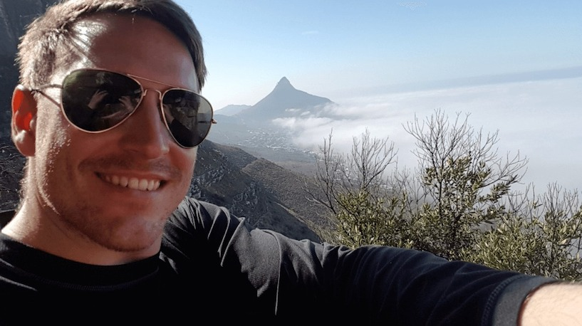 Südafrika, Tafelberg, Wandern, Wanderung, , Table Mountain National Park, Selfie, Campus Bay Pipe Track