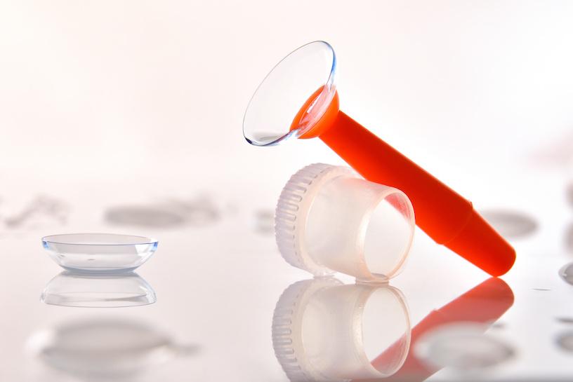 kontaktlinse entfernen trick